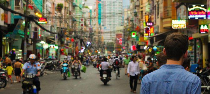 Break down of a long trip in South East Asia