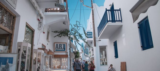 Tips for Students Going on a Trip to Mykonos